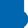 blue coin icon