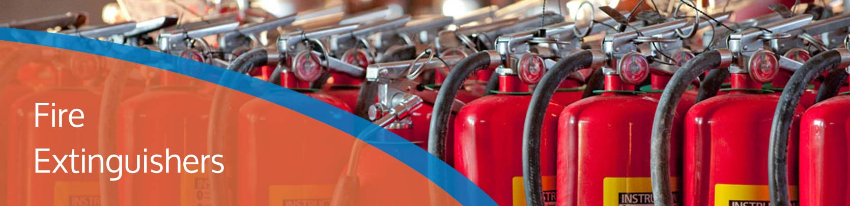 fire extinguishers hero image for mi fire protection services