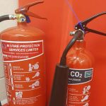mi fire protection services branded fire extinguishers